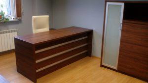 Sekwoja Dębica - Biuro w kolorze Wenge