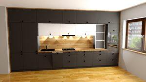 Sekwoja Dębica - Kuchnia w apartamentowcu